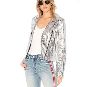 Blank NYC Crystalized Silver Jacket